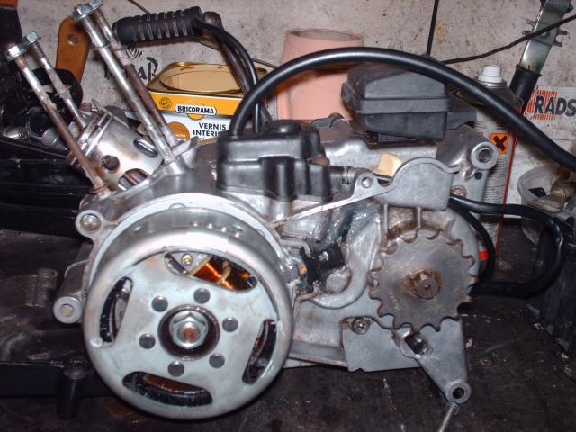 Réstauration d'un DT-MX 50 à vitesses auto de 1983 012-d63a3d