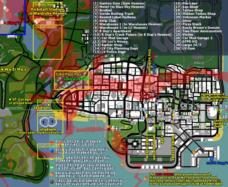 mapas de misterios
