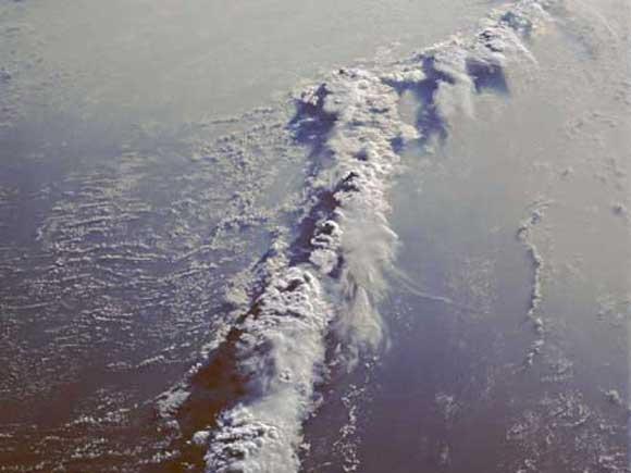 Rencontre ocean atlantique et pacifique